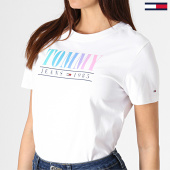 /achat-t-shirts/tommy-hilfiger-jeans-tee-shirt-femme-summer-multicolor-6699-blanc-180860.html