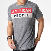 /achat-t-shirts/american-people-tee-shirt-saturne-gris-anthracite-chine-180943.html