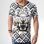 /achat-t-shirts-longs-oversize/ikao-tee-shirt-oversize-f533-blanc-noir-181087.html