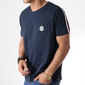 /achat-t-shirts-poche/la-maison-blaggio-tee-shirt-poche-avec-bandes-miljeli-bleu-marine-181124.html