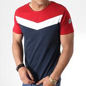 /achat-t-shirts/la-maison-blaggio-tee-shirt-metoli-bleu-marine-rouge-181134.html