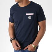/achat-t-shirts-poche/la-maison-blaggio-tee-shirt-poche-milkali-bleu-marine-181157.html