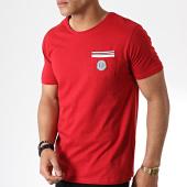 /achat-t-shirts-poche/la-maison-blaggio-tee-shirt-poche-milkeli-rouge-181162.html
