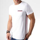 /achat-t-shirts-poche/lbo-tee-shirt-poche-tricolore-bleu-blanc-rouge-734-blanc-181049.html