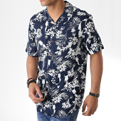 /achat-chemises-manches-courtes/only-and-sons-chemise-manches-courtes-floral-larry-bleu-marine-181022.html