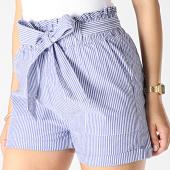 /achat-shorts-chinos/only-short-femme-smilla-bleu-marine-blanc-181078.html