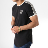 /achat-t-shirts/siksilk-tee-shirt-oversize-a-bandes-taped-runner-tee-14260-noir-181092.html