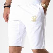 /achat-shorts-jogging/siksilk-short-jogging-zonal-14217-blanc-dore-181101.html