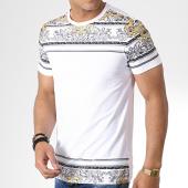 /achat-t-shirts/terance-kole-tee-shirt-98302-blanc-dore-noir-181148.html