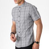 /achat-chemises-manches-courtes/uniplay-chemise-manches-courtes-a-carreaux-c007-gris-180921.html
