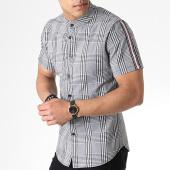 /achat-chemises-manches-courtes/uniplay-chemise-manches-courtes-a-carreaux-c006-gris-rose-180942.html