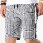 /achat-shorts-jogging/uniplay-short-a-carreaux-avec-bandes-t3379-gris-180947.html