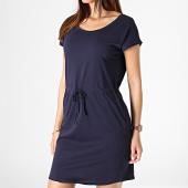 /achat-robes/vero-moda-robe-manches-courtes-femme-april-bleu-marine-181079.html