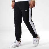 /achat-pantalons-joggings/wrung-pantalon-jogging-avec-bandes-tech-noir-blanc-180983.html