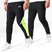 /achat-pantalons-joggings/y-et-w-pantalon-de-jogging-reversible-fluo-revers-noir-jaune-181130.html