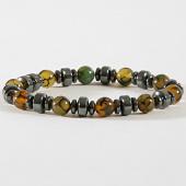 /achat-bracelets/black-needle-bracelet-46-marbre-jaune-metallique-181321.html