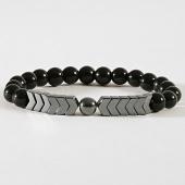 /achat-bracelets/black-needle-bracelet-50-noir-metallique-181325.html