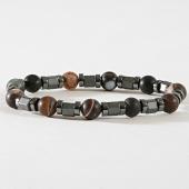 /achat-bracelets/black-needle-bracelet-70-metallique-marbre-marron-181351.html