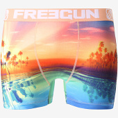 /achat-boxers/freegun-boxer-sunset-orange-vert-bleu-181436.html