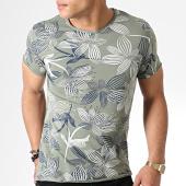 /achat-t-shirts/mtx-tee-shirt-tm0174-vert-kaki-floral-181249.html