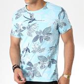 /achat-t-shirts/mtx-tee-shirt-tm0174-bleu-clair-floral-181268.html