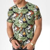 /achat-t-shirts/mtx-tee-shirt-tm0158-vert-noir-floral-181284.html