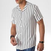 /achat-chemises-manches-courtes/mtx-chemise-manches-courtes-tm0144-blanc-noir-181286.html