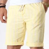 /achat-shorts-chinos/mtx-short-chino-a-rayures-tm0136-jaune-181288.html