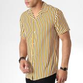 /achat-chemises-manches-courtes/mtx-chemise-manches-courtes-tm0141-jaune-blanc-noir-181289.html