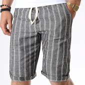 /achat-shorts-chinos/mtx-short-chino-a-rayures-tm0136-gris-anthracite-chine-181290.html
