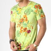 /achat-t-shirts/mtx-tee-shirt-tm0169-vert-floral-181298.html