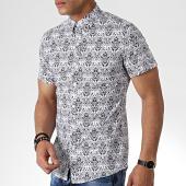 /achat-chemises-manches-courtes/mtx-chemise-manches-courtes-dx2129-blanc-floral-181409.html