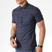 /achat-chemises-manches-longues/mtx-chemise-manches-courtes-dx2106-bleu-marine-floral-181416.html