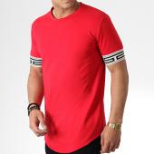 /achat-t-shirts-longs-oversize/aarhon-tee-shirt-oversize-91316-rouge-181537.html