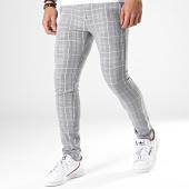 /achat-pantalons-carreaux/classic-series-pantalon-a-carreaux-m-3108-gris-181451.html