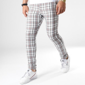 /achat-pantalons-carreaux/classic-series-pantalon-a-carreaux-3107-gris-blanc-181509.html