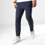 /achat-pantalons-carreaux/classic-series-pantalon-a-carreaux-91412-bleu-marine-181572.html