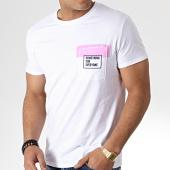 /achat-t-shirts-poche/mtx-tee-shirt-poche-f1009-blanc-rose-181482.html