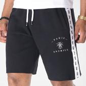 /achat-shorts-jogging/anthill-short-jogging-avec-bandes-tape-noir-blanc-181646.html