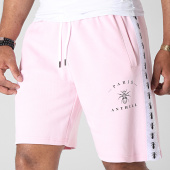 /achat-shorts-jogging/anthill-short-jogging-avec-bandes-tape-rose-181648.html