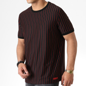 /achat-t-shirts/hugo-by-hugo-boss-tee-shirt-a-rayures-reverse-logo-drieste-50410916-noir-rouge-181628.html