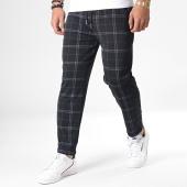 /achat-pantalons-carreaux/frilivin-pantalon-a-carreaux-avec-bandes-1379-noir-181866.html