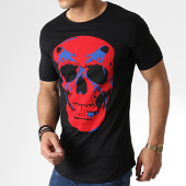 /achat-t-shirts-longs-oversize/ikao-tee-shirt-oversize-f524-noir-rouge-181827.html
