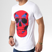 /achat-t-shirts-longs-oversize/ikao-tee-shirt-oversize-f524-blanc-rouge-181828.html