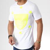 /achat-t-shirts-longs-oversize/ikao-tee-shirt-oversize-f523-blanc-jaune-fluo-181829.html