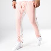/achat-pantalons-joggings/ikao-pantalon-jogging-a-bandes-f565-rose-181835.html