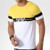 /achat-t-shirts/nasa-tee-shirt-split-tricolore-noir-blanc-jaune-181689.html