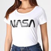 /achat-t-shirts/nasa-tee-shirt-femme-worm-logo-blanc-181698.html