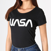 /achat-t-shirts/nasa-tee-shirt-femme-worm-logo-noir-181699.html