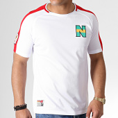 /achat-t-shirts/okawa-sport-tee-shirt-de-sport-a-bandes-olive-et-tom-new-team-2-blanc-rouge-181710.html